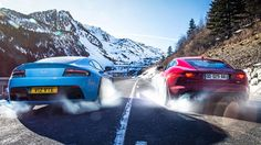 Jaguar F-type R Coupe vs Aston Martin V12 Vantage S (2014) CAR review