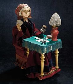 The Stein am Rhein Museum Collection: Rare French Paper Mache Musical Automaton