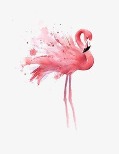 """Flamingo"" Watercolor Art Print Signed by Artist DJ Rogers David J. Rogers Fine Art www. Watercolor Bird, Watercolor Paintings, Simple Watercolor, Tattoo Watercolor, Watercolor Animals, Watercolor Techniques, Watercolor Background, Watercolor Landscape, Watercolors"