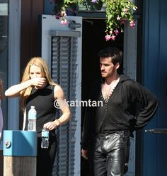 OUAT Season 4 Filming (July 16, 2014)