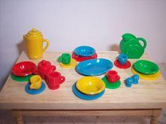 1:12 Scale Fiestaware set | by clayangel_sc