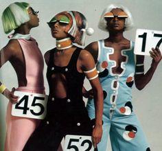 André Courrèges designs, 1968