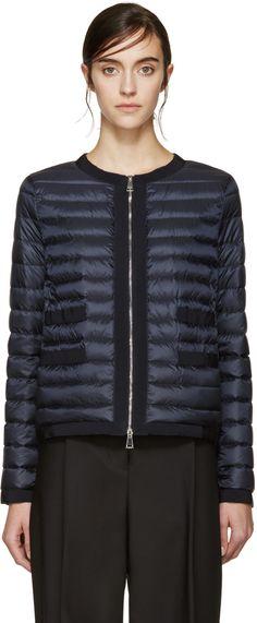 Moncler - Navy Down Alose Jacket