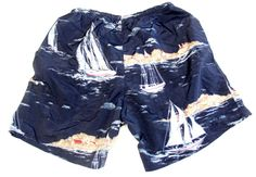 Nautica Sailboat Print Boardies Shorts $49