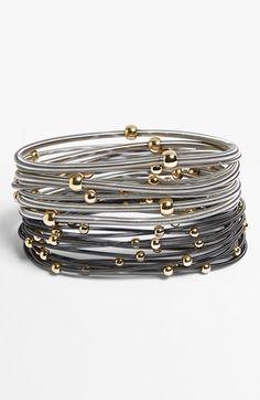 stretch coil bracelets