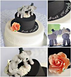 Beautiful, unique Wedding 'Cakes by Nat'