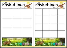 #påske#bingo #undervisning #ord #begreper #matematikk Bingo, Aquarium, Goldfish Bowl, Aquarium Fish Tank, Aquarius, Fish Tank