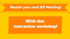 Special Education Advocate is ready to help you prepare for your most successful IEP meeting yet!