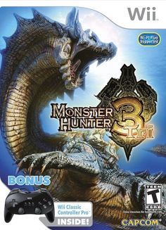 Monster Hunter Tri - Classic Controller Pro Bundle - Nintendo Wii