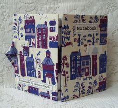 Notebook - Down my street fabric  £9.95