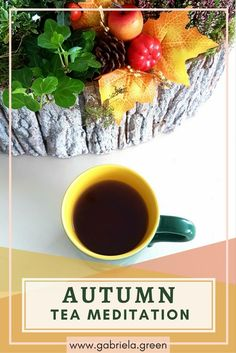 Try a relaxing autumn tea meditation. Guided meditation for beginners