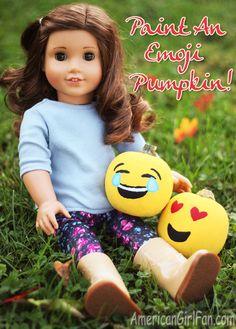 Doll Craft: Paint An Emoji Pumpkin!