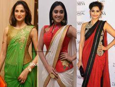Hot Fashion Trend - Corset Blouses! - South India Fashion