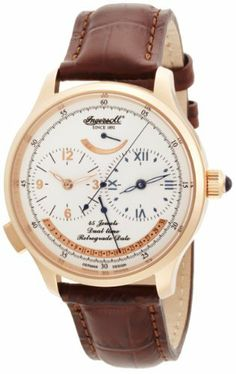 Ingersoll Men's IN4403RWH Pennsylvania Automatic White Dial Watch Ingersoll. $377.25. Caliber 846. Fine Automatic Timepiece. Water Resistant 3 ATM. Luxurious Ingersoll Watch Case. 43 stones