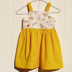 Say Cheese Baby Dress size 12 Months by ArtsyCrafty on Etsy, $22.00