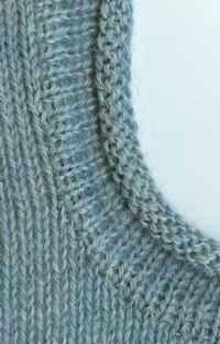 Cut N Sew - Rolled Edge Band Tutorial For Machine Knitting - Stricken ist so ein. Cut N Sew – Rolled Edge Band Tutorial For Machine Knitting – Stricken ist so einfach wie