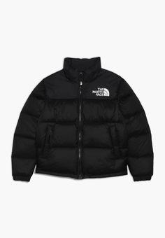 The north face retro nuptse - dunjakker - black - zalando. Black North Face Jacket, North Face Coat, North Face Bubble Jacket, Doudoune The North Face, Vest Outfits For Women, Women Pants, Coats For Women, Jackets For Women, Sweatshirts