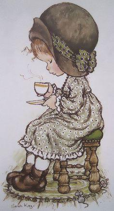 Sarah Kay by Sarah Key, Holly Hobbie, Vintage Love, Retro Vintage, Illustrations Vintage, Hobbies For Kids, Hobby Horse, Cute Images, World Best Photos