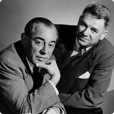 """Richard Rodgers (1902–1979) and Oscar Hammerstein II (1895–1960) were an influential, innovative and successful American musical theatre writing team, usually referred to as Rodgers and Hammerstein. They created a string of popular Broadway musicals in the 1940s and 1950s, initiating what is considered the """"golden age"""" of musical theatre."""