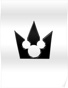 Get a Kingdom Hearts crown tattoo~!