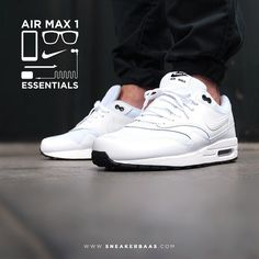 "#nike #essential #airmax #nikeair #sneakerbaas #baasbovenbaas  Nike Air Max 1 Essential ""White X Black Outsole"" - Now available!"