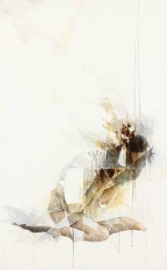"Saatchi Art Artist jennifer hansen; Painting, ""Shattered"" #art"