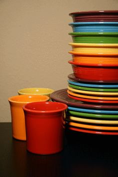 Fiesta dishes rock my socks and are also toxin free :) <3