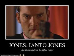 Lol torchwood, for those who are waiting for the next doctor who to come out Gareth David Lloyd, Captain Jack Harkness, David Tennant Doctor Who, John Barrowman, Twelfth Doctor, Doctor Who Quotes, Nerd Love, Don't Blink, Dr Who