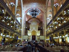 Dohany Street Synagogue (moorish revival) by Ludwig Forster, Budapest Hungary