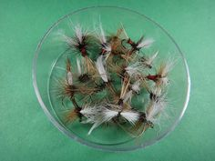 One of my old standby dry fly patterns the Hairwing Royal Coachman