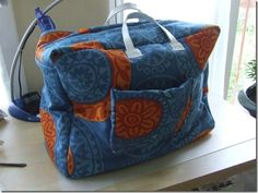 Tuto : Le sac de transport pour machine à coudre - La Boîte aux Trésors