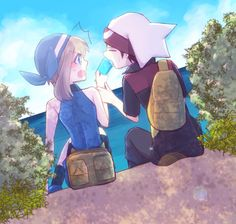 pokemon rs Pokemon Special, Sapphire, Anime, Fictional Characters, Ice Cream, Ships, Art, No Churn Ice Cream, Art Background