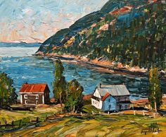 Port au Persil, Charlevoix, by Raynald Leclerc