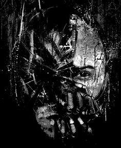 The Dark Knight Rises t-shirts by AJ Dimarucot, via Behance