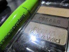Wet n Wild Tough Girl Army Beauty Limited Edition Eyeshadow!! Hot Glue & Sparkle