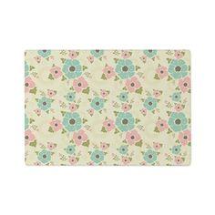 "Nostalgic flowers Cutting Board Beige seamless vintage pattern ""Nostalgic flowers""  $32.49"