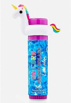 Unicorn Pool Floatie Lip Balm Follow @