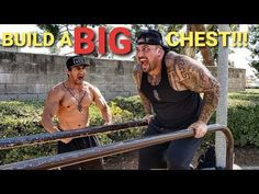"""BUILD A BIG CHEST with """"NO WEIGHTS"""" - YouTube Follow Me On Instagram, Big Boys, Weights, Bodybuilding, Strength, Youtube, Youtubers, Weight Training, Youtube Movies"""