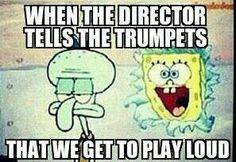 Yes!  Go trumpets!