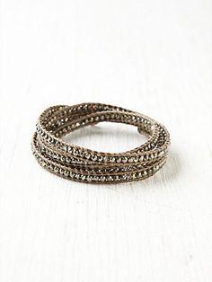 Pyrite Wrap Bracelet $248.00