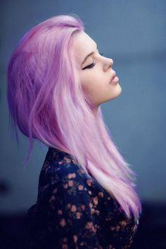 Pastel goth/grunge hair