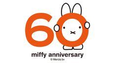 ミッフィー60周年 記念ロゴ                                                                                                                                                                                 More