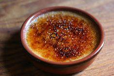 Recettes de cuisine après une gastroplastie: Crème brûlée au pain d'épices