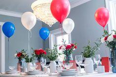 10 tips: slik dekker du mai-bordet - Caroline Berg Eriksen Table Decorations, Blog, Party Ideas, Home Decor, Homemade Home Decor, Blogging, Ideas Party, Decoration Home, Dinner Table Decorations