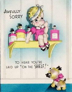 Cute Get Well Card (78H)