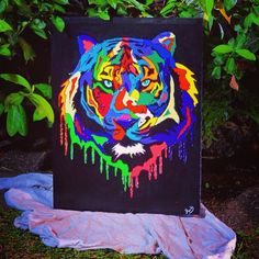 #magic #popart #artist #love #tigers #colors #passion #amor #bogotá #colombia #colombiarte #mundoart by mariavelezart