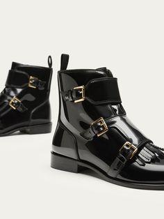 De 7 beste afbeeldingen van Zwarte platte schoen winter