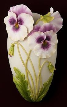 Pansey Wall Vase/Wall Pocket