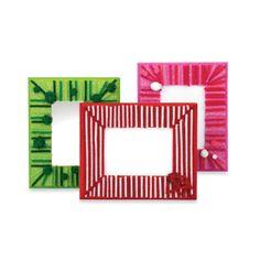 jingle  embellished wood frames