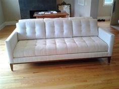 Salon Sofa | Furniture Envy- tufting too formal?